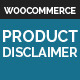Woocommerce Product Disclaimer - CodeCanyon Item for Sale