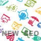SEO and Internet Maketing Icons - New SEO - GraphicRiver Item for Sale