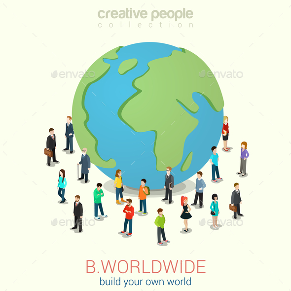 GraphicRiver Worldwide Concept 10447275