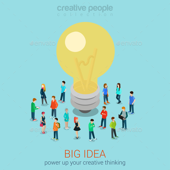 GraphicRiver Brainstorming Infographic 10447279