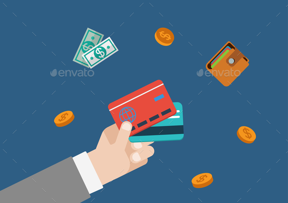 GraphicRiver Credit Card Finance Money 10447280