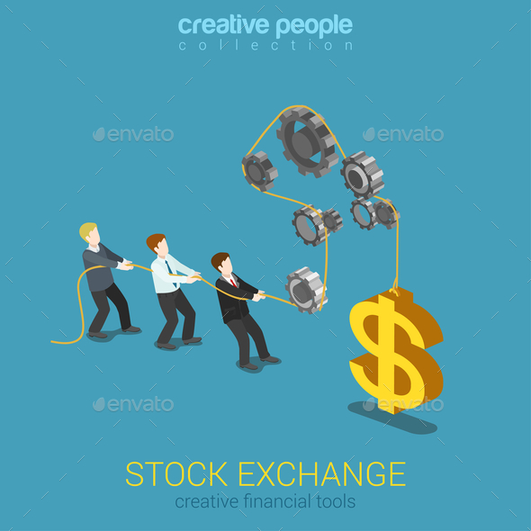 GraphicRiver Stock Exchange Graphic 10447292