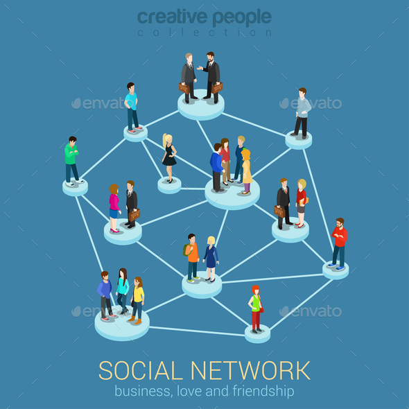 GraphicRiver Social Network 10447310