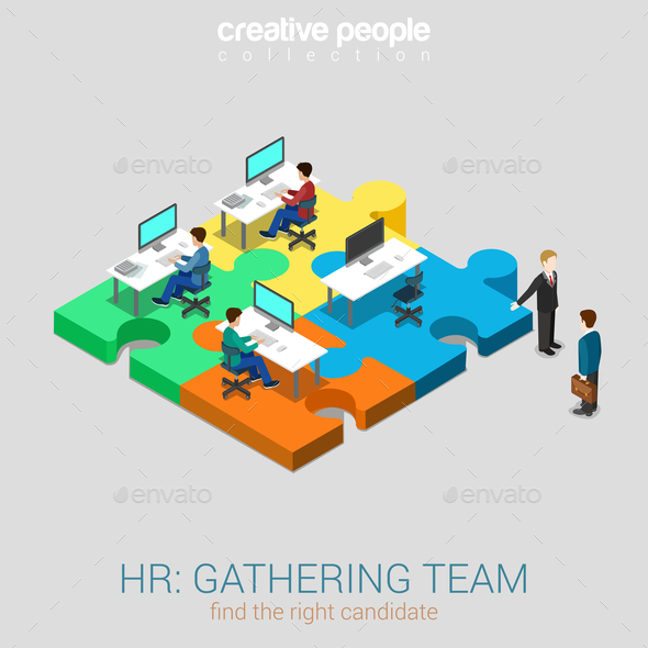 GraphicRiver HR Team Solution 10447313