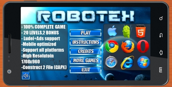 CodeCanyon ROBOTEX PUZZLE 100% Complete game 10447317