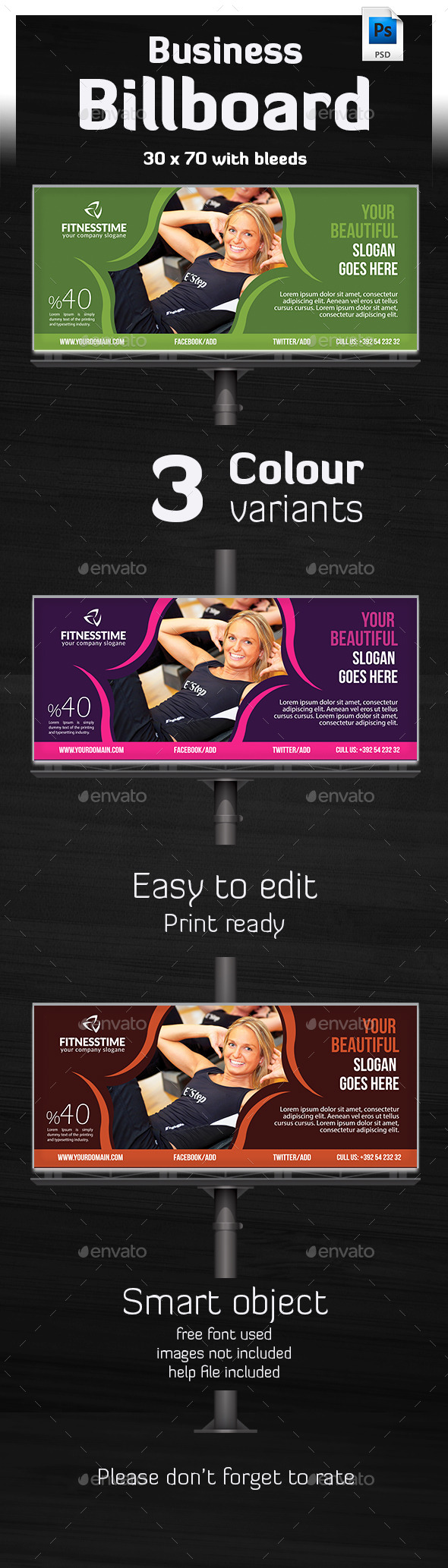 GraphicRiver Tivato Ultimate Billboard Template 10447508