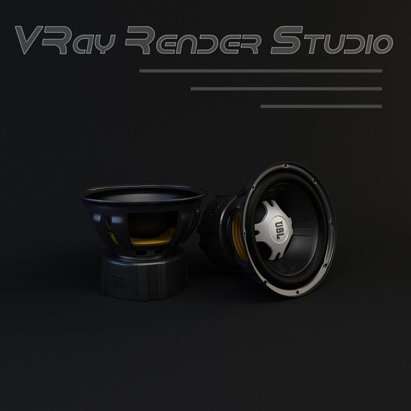 3DOcean VRay Render Studio 10447556