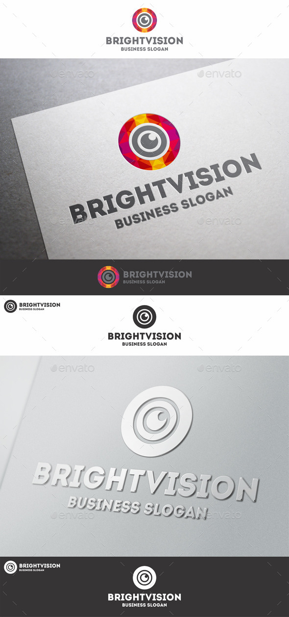 GraphicRiver Bright Vision Eye Studio Logo 10447761