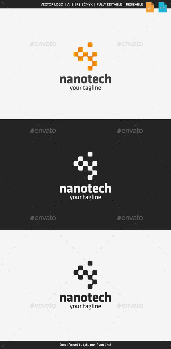 GraphicRiver Nanotech Logo Template 10447774