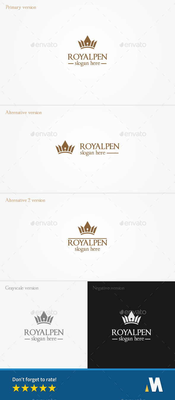 GraphicRiver Royal Pen or King Author 10447804