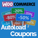 Woocommerce Autoload Coupons - CodeCanyon Item for Sale