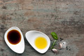 Oil and Vinegar Food Background - PhotoDune Item for Sale