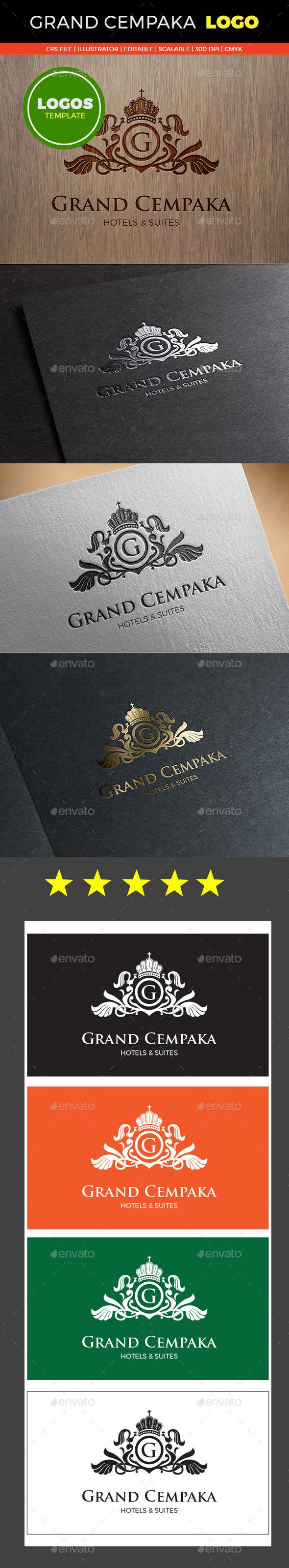 GraphicRiver Grand Cempaka Logo Templates 10448584