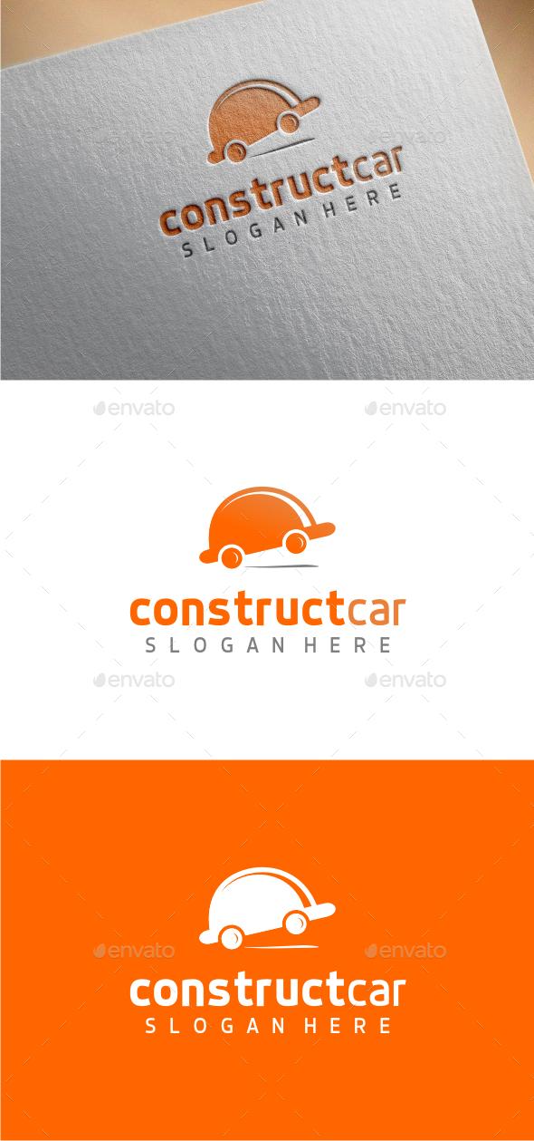 GraphicRiver ConstructCar Logo Template 10382631
