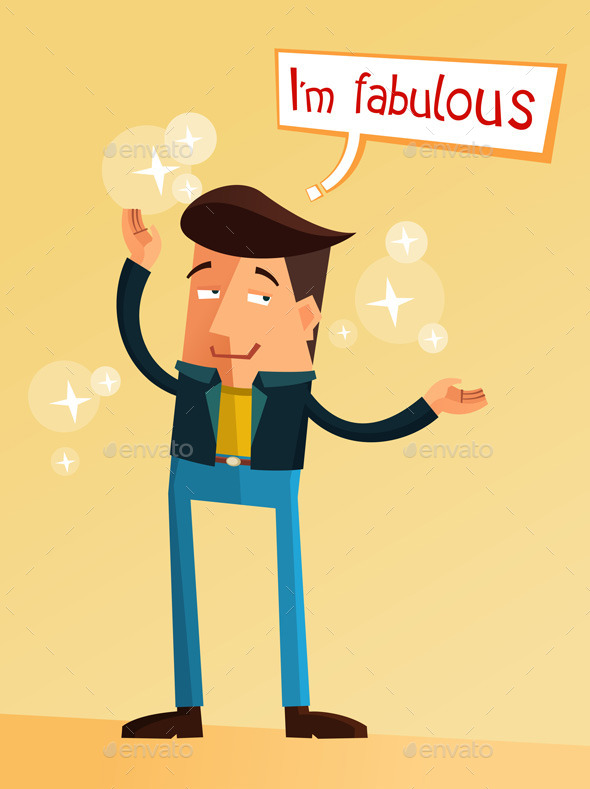GraphicRiver Fabulous Man 10448790