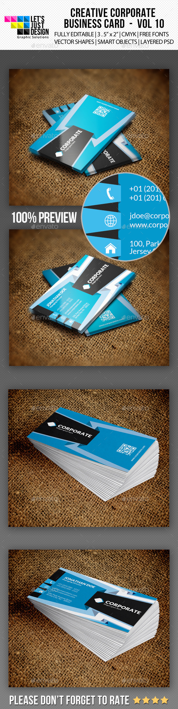 GraphicRiver Corporate Business Card Vol 10 10399726