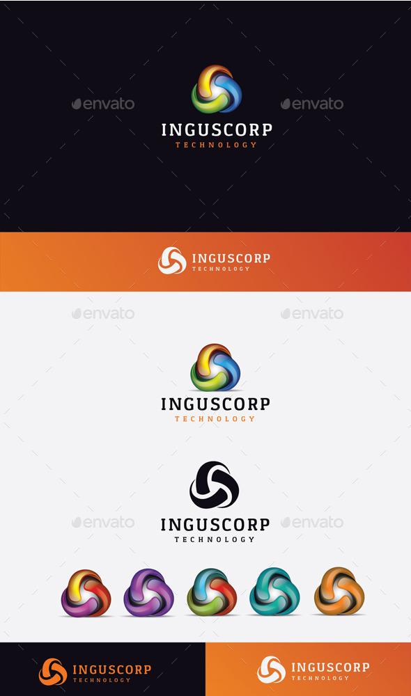 GraphicRiver 3D Ingus Logo 10448878