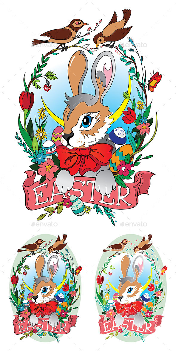 GraphicRiver Easter Bunny 10448881
