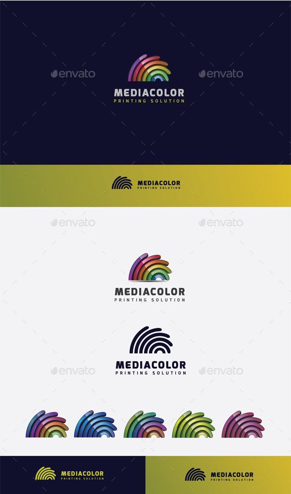 GraphicRiver Media Colorful Logo 10448882