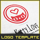 Kitty Love - Logo Template - GraphicRiver Item for Sale