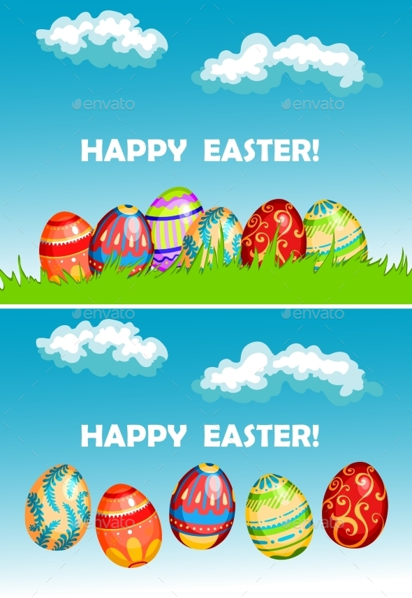 GraphicRiver Easter Background 10449050