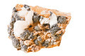 Cerussite, mineral, stone on a white background - PhotoDune Item for Sale