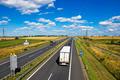 Polish A4 motorway near Gliwice - PhotoDune Item for Sale
