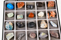 Set, a collection of rocks, minerals in the box - PhotoDune Item for Sale