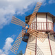 Windmill with blue sky - PhotoDune Item for Sale