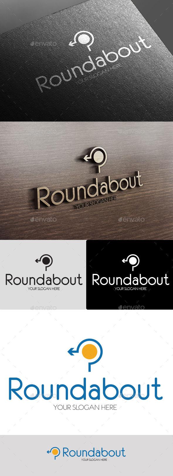GraphicRiver Roundabout Logo 10450767