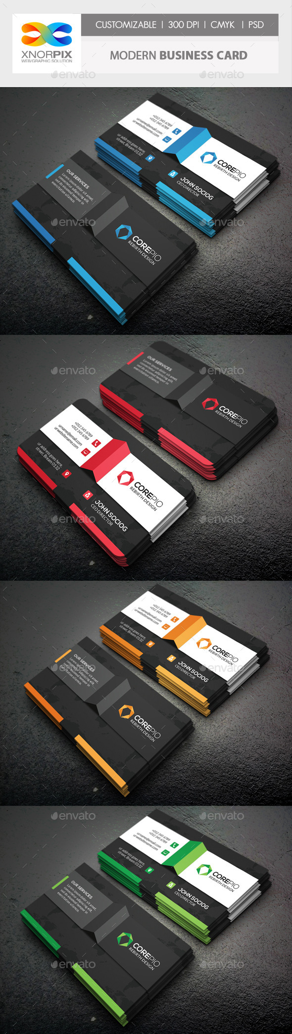 GraphicRiver Modern Business Card 10451419