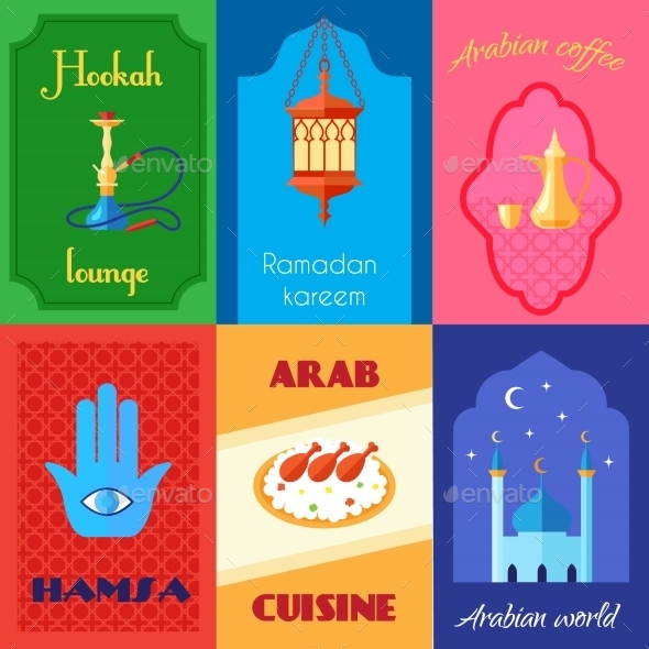 GraphicRiver Arabic Culture Poster 10451428