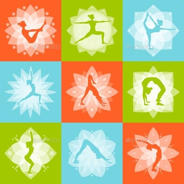 GraphicRiver Yoga Design Concept 10451535