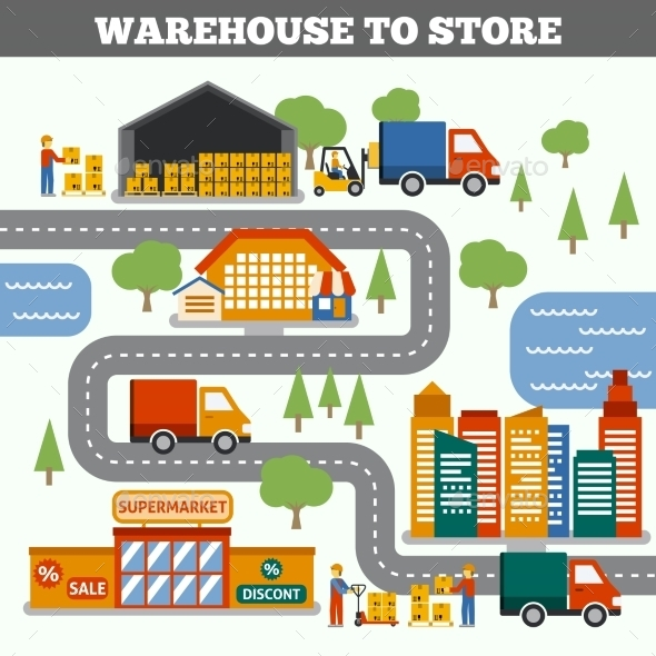 GraphicRiver Warehouse To Store Concept 10451605