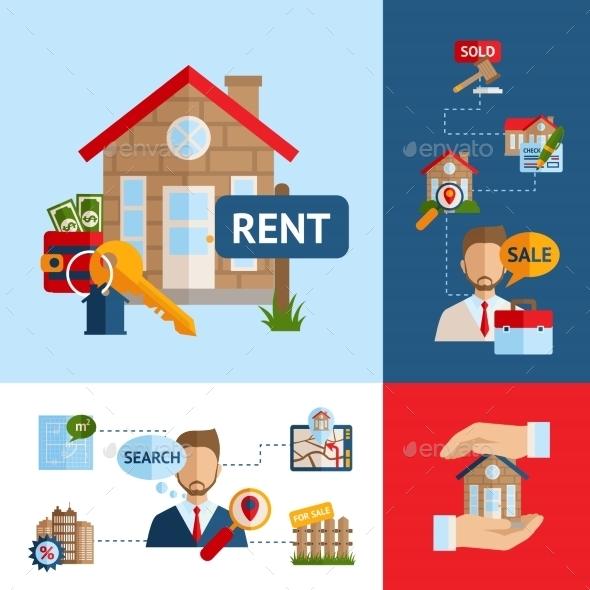 GraphicRiver Real Estate Concept Set 10451619
