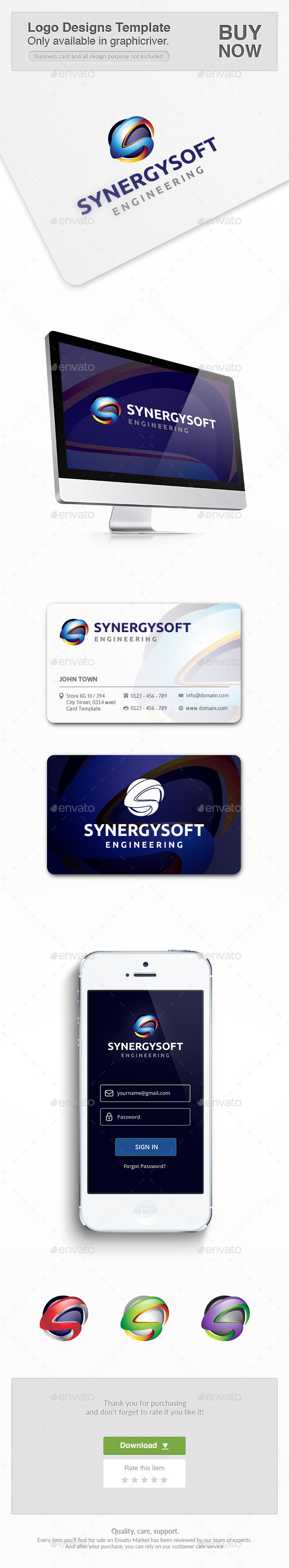GraphicRiver Synergy Engineering 10451639