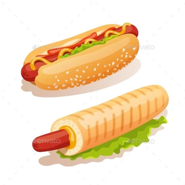 GraphicRiver Hot Dog Set 10451681