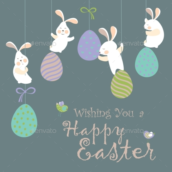 GraphicRiver Easter Bunnies 10452905