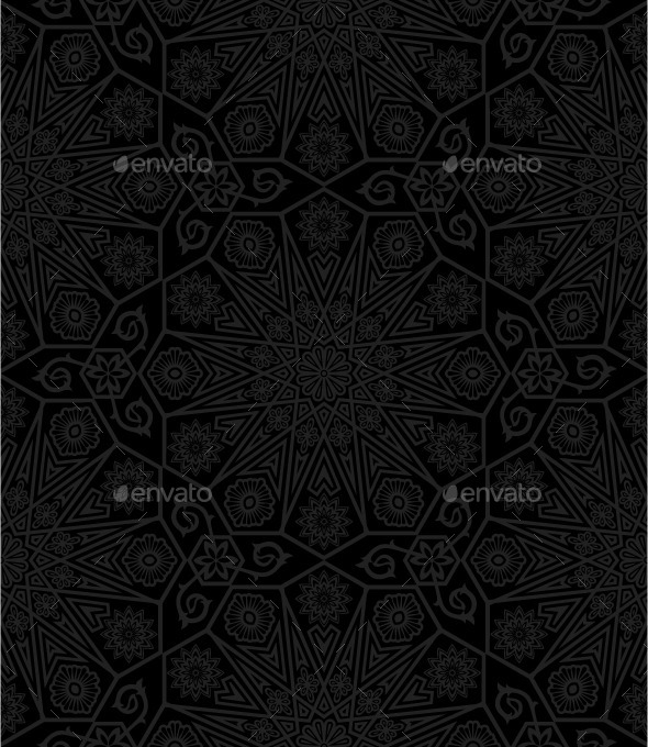 GraphicRiver Floral Pattern 10453236
