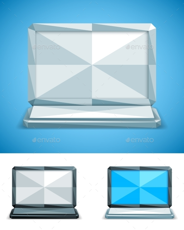 Low Poly Laptop