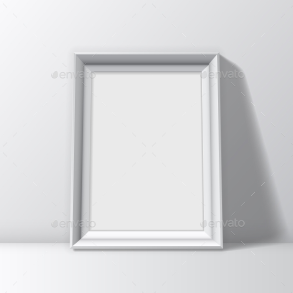 GraphicRiver Blank White Picture Frame 10453335