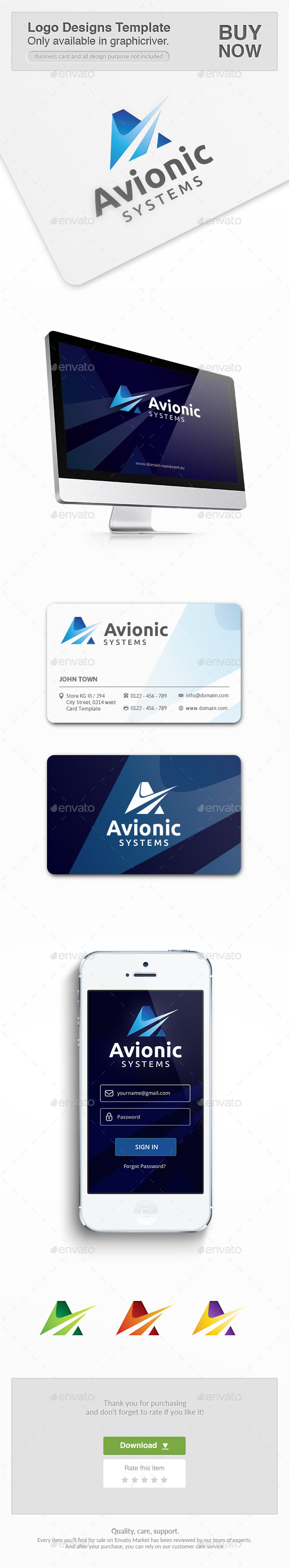 GraphicRiver Avionic Consulting 10453529