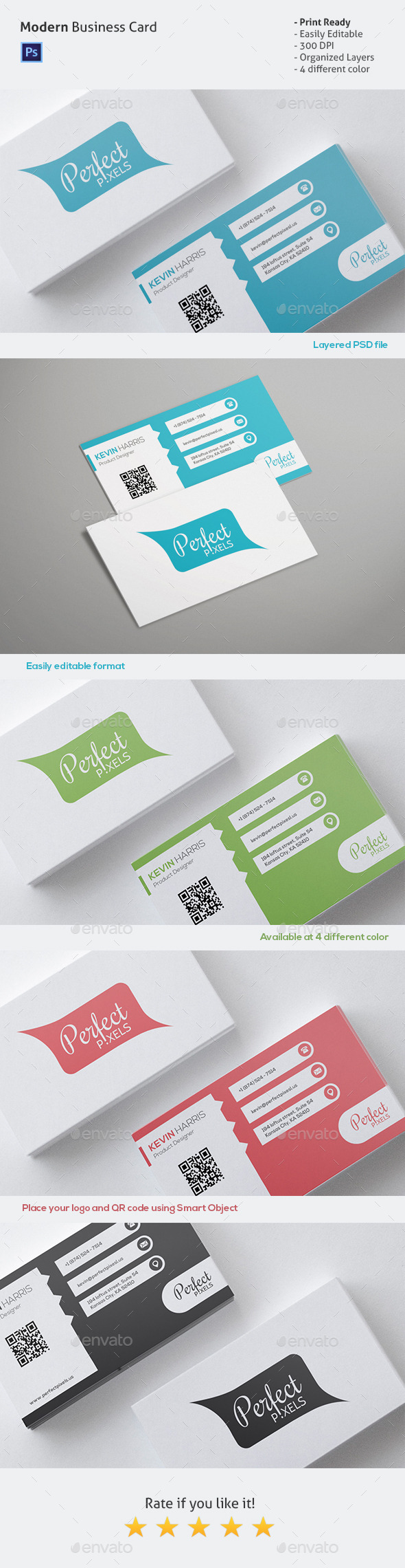 GraphicRiver Simple Business Card 10453664