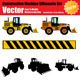 Vector Construction Machine Set - GraphicRiver Item for Sale