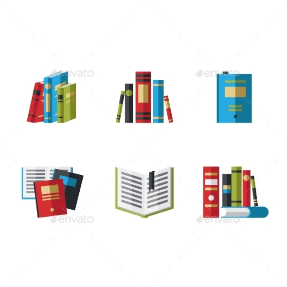 GraphicRiver Icons Books 10454452