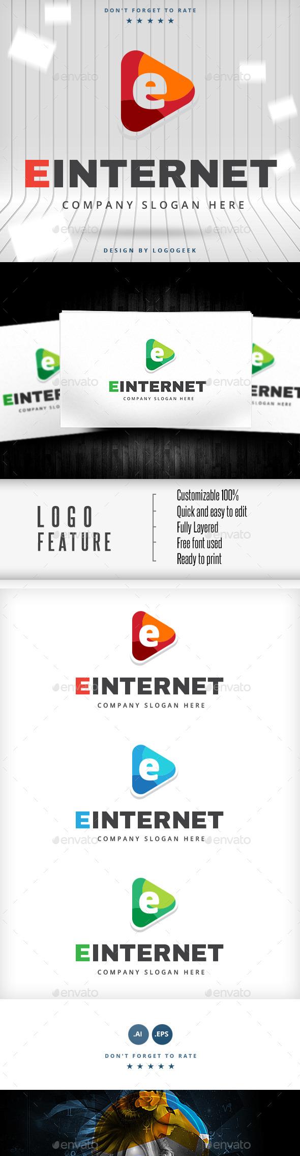 GraphicRiver Einternet Logo 10454459