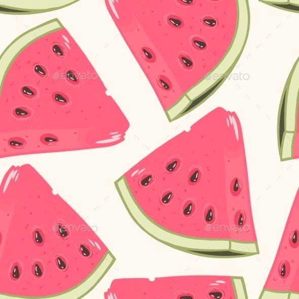 GraphicRiver Watermelon Pattern 10454790