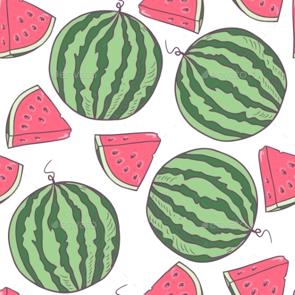 Watermelon Emoji Wallpaper Graphicriver Watermelon