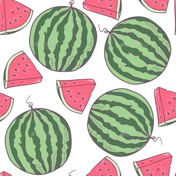 GraphicRiver Watermelon Pattern 10454836