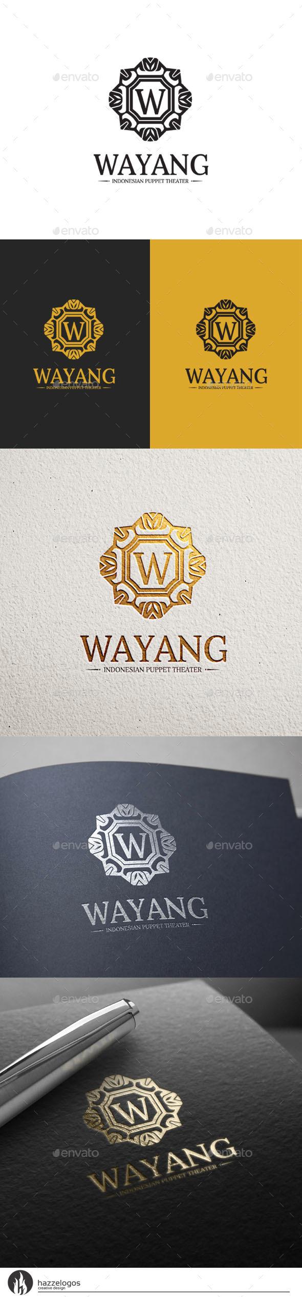 GraphicRiver Wayang Logo 10454876